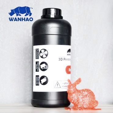 Wanhao Red Resin 1Ltr UV Resin