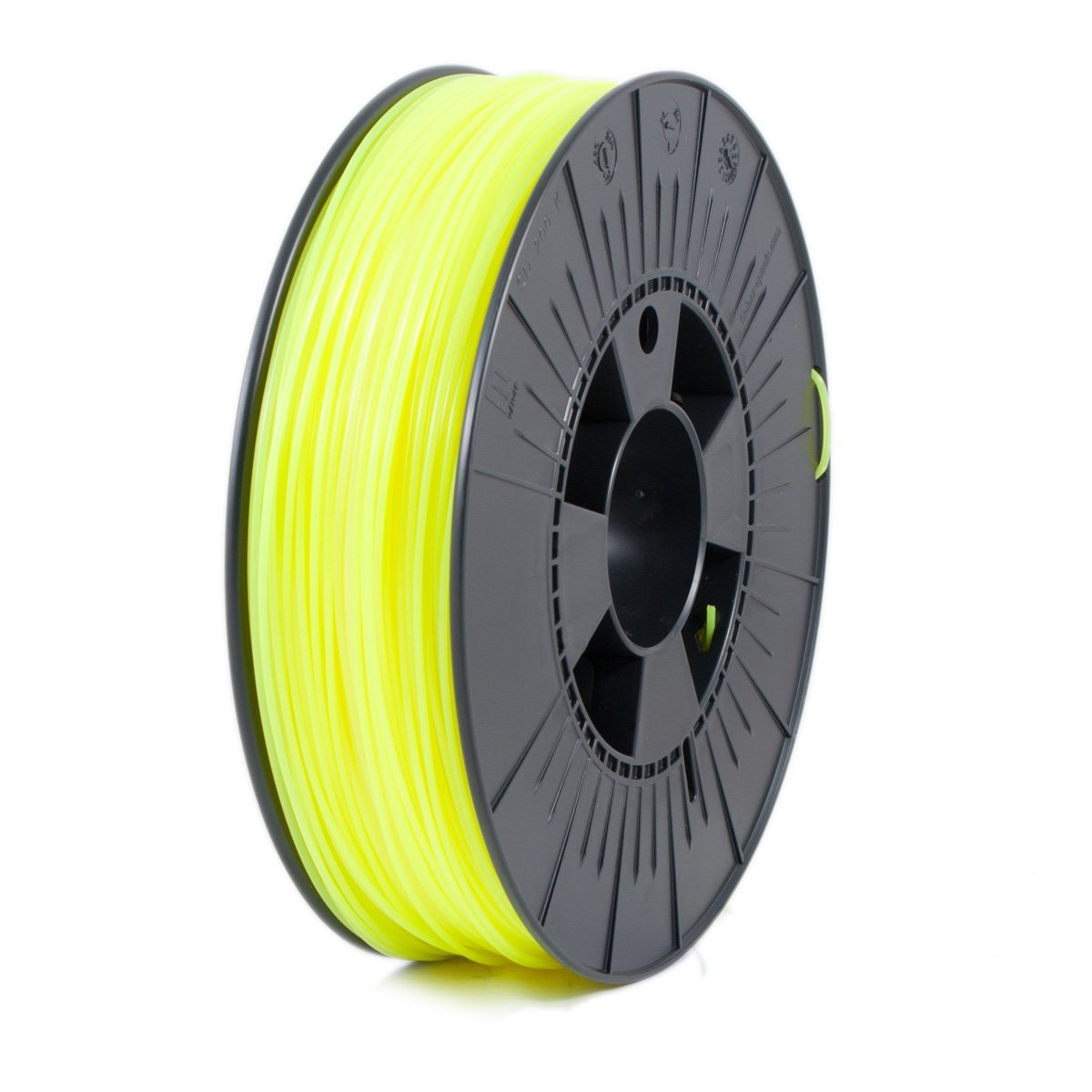 Ice Filaments  Fluo Young Yellow PLA 1.75 mm