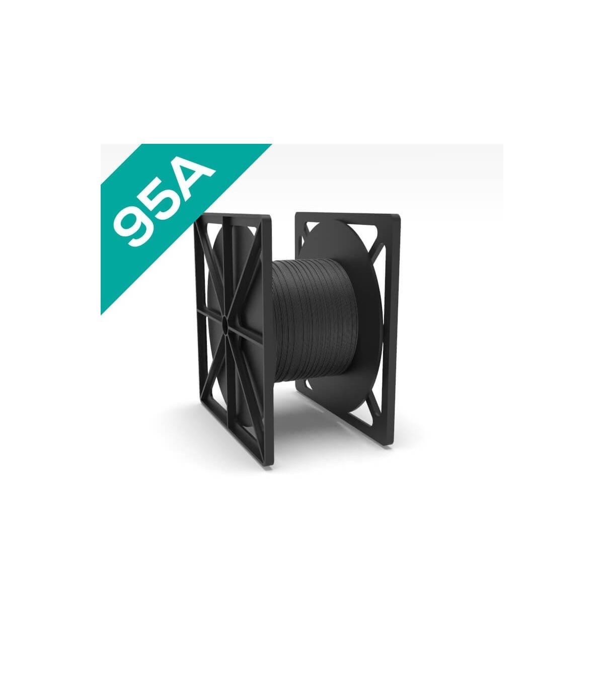 FilaFlex Black 95A PLA Filament 2.85 mm 3kg