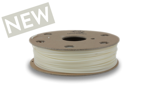Refil Recycled PLA filament from white food PLA 2.85 mm