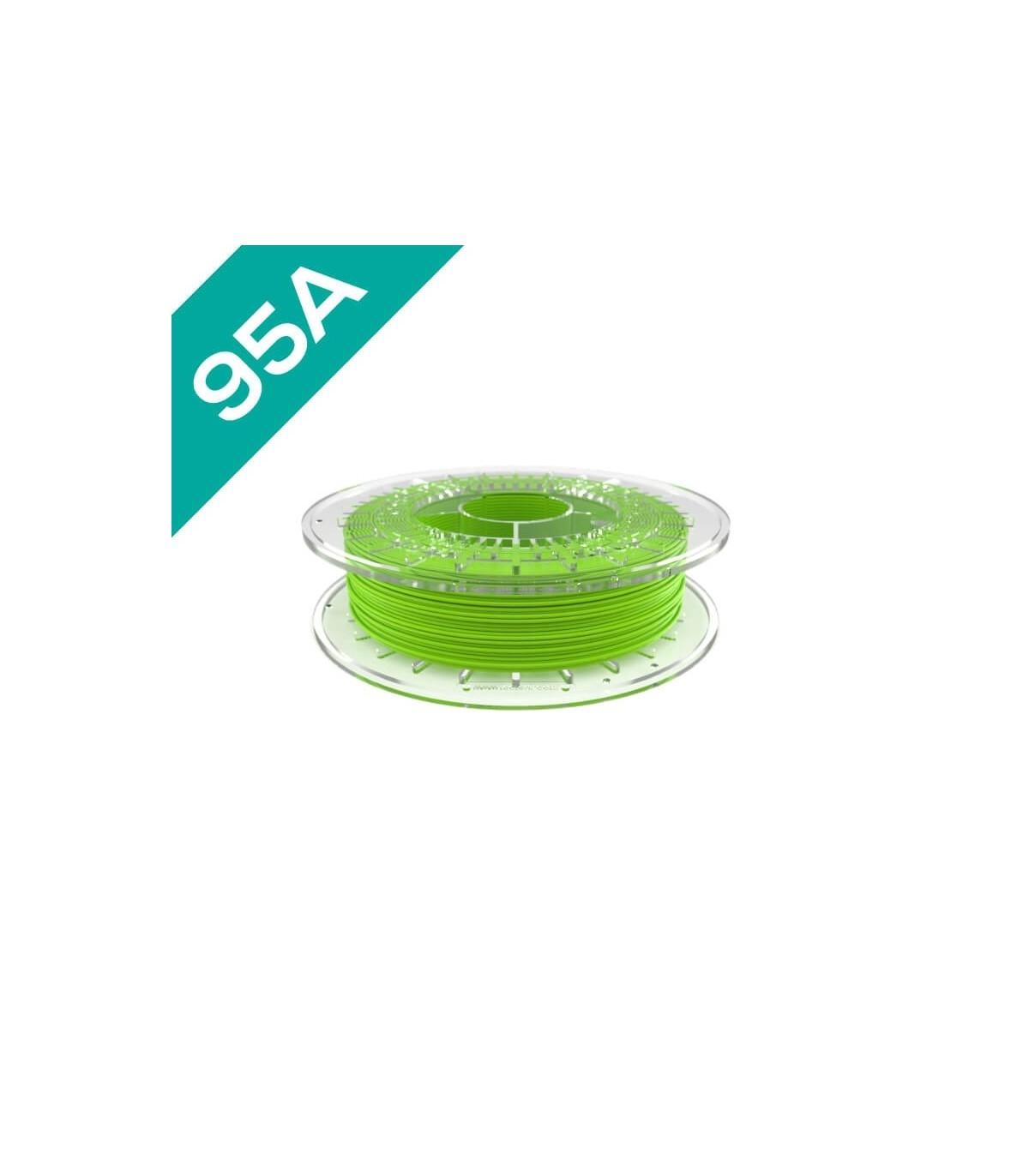 FilaFlex Green 95A PLA Filament 1.75 mm 0.5kg
