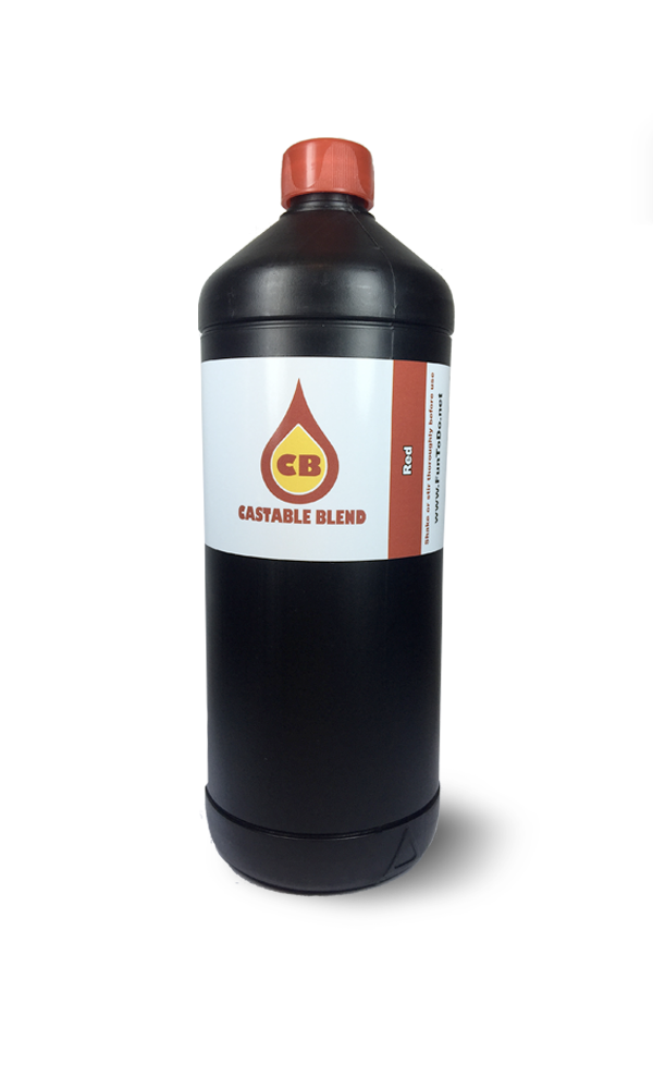 Castable Blend Resin Red