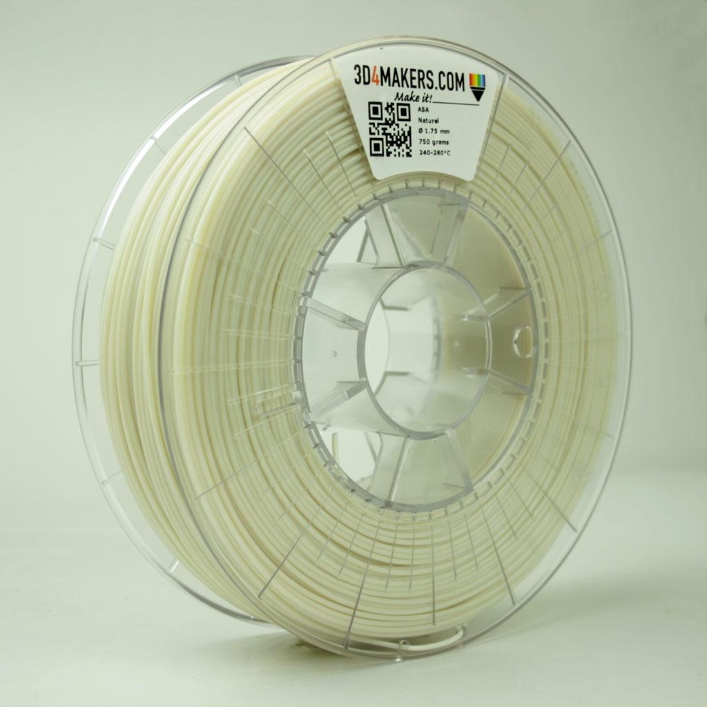 3D4Makers Natural ASA Filament 1.75 mm