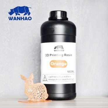 Wanhao Orange Resin 1Ltr UV Resin
