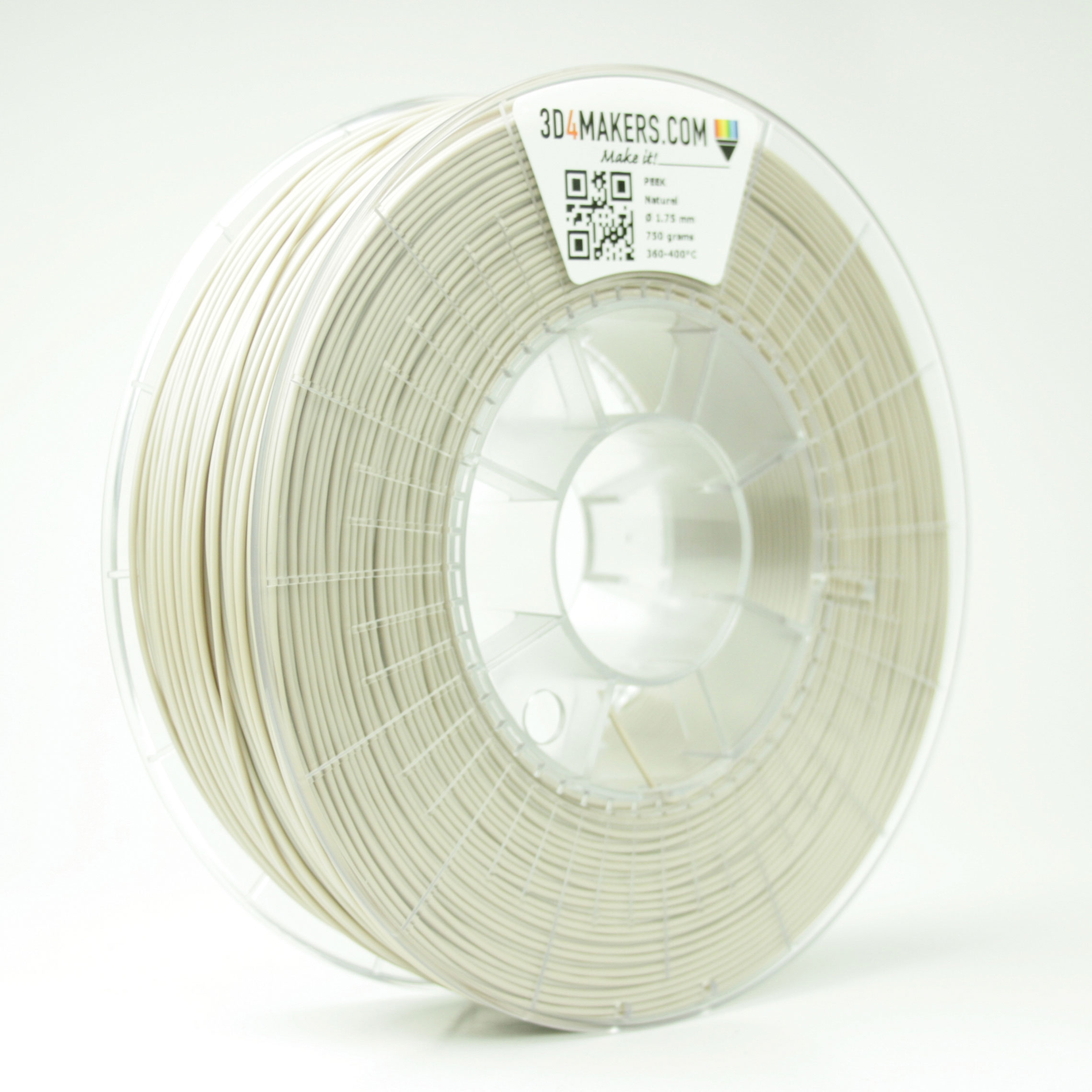3D4Makers PEEK Filament PEEK 1.75 mm