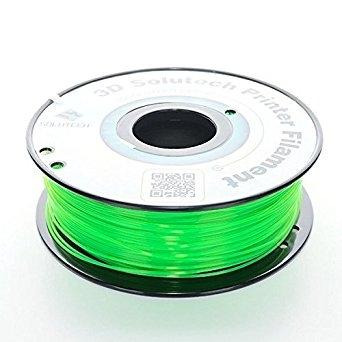 3D Solutech See Through Green  PETG 1.75 mm
