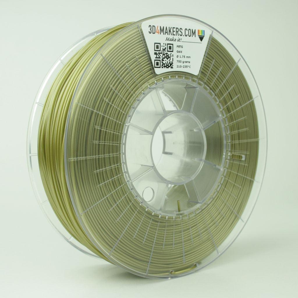 3D4Makers Gold PETG Filament 1.75 mm