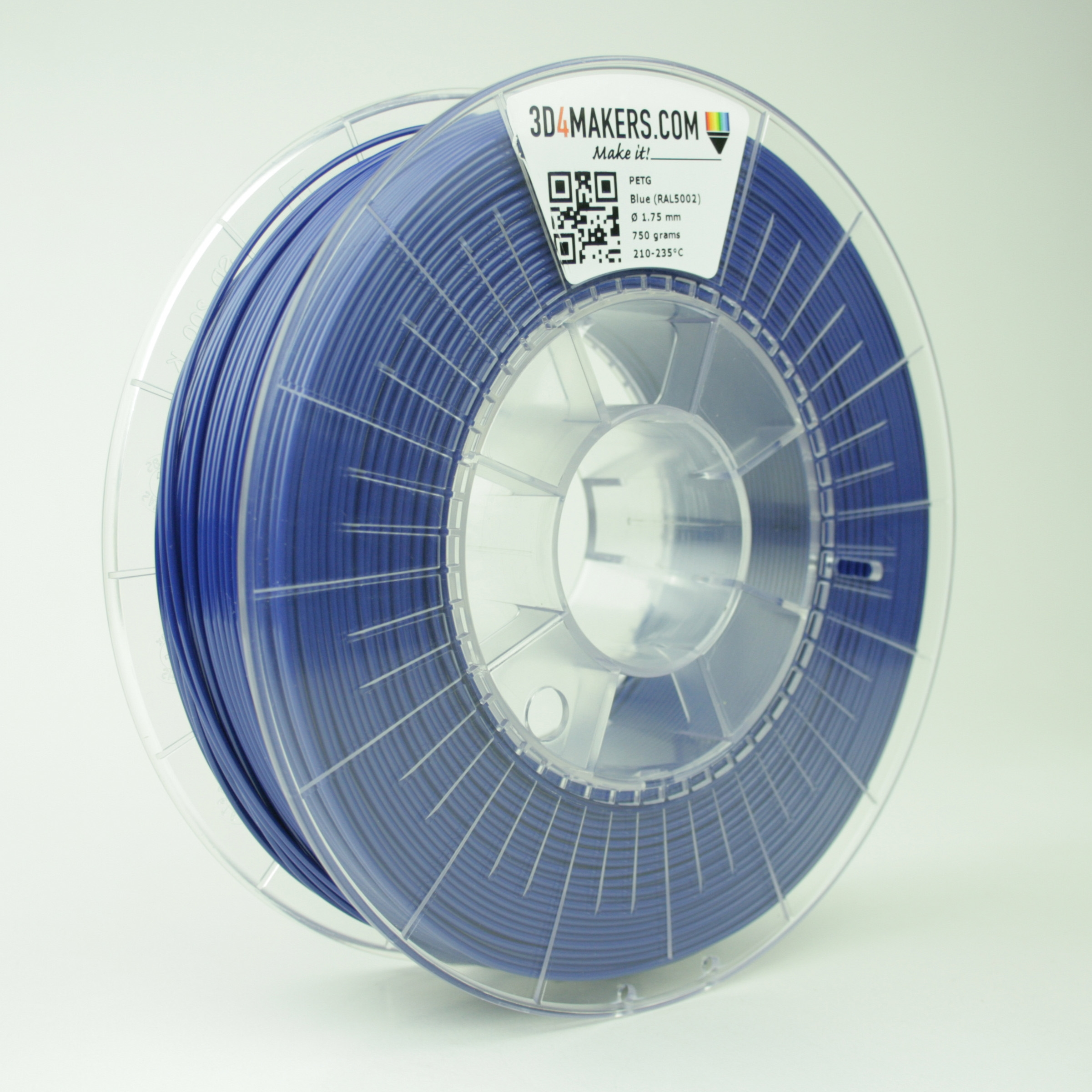 3D4Makers Blue PETG Filament 2.85 mm