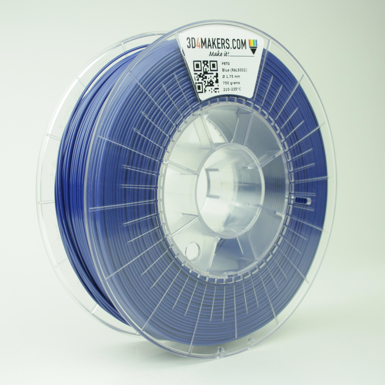 3D4Makers Blue PETG Filament 1.75 mm