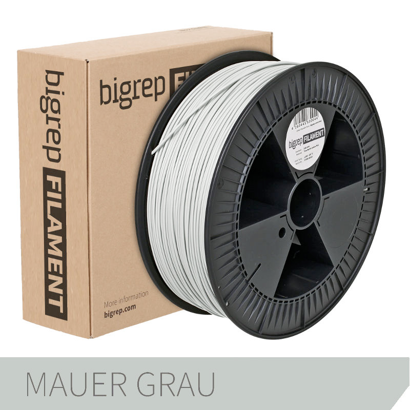 Bigrep Grey PLA Filament 2.85 mm