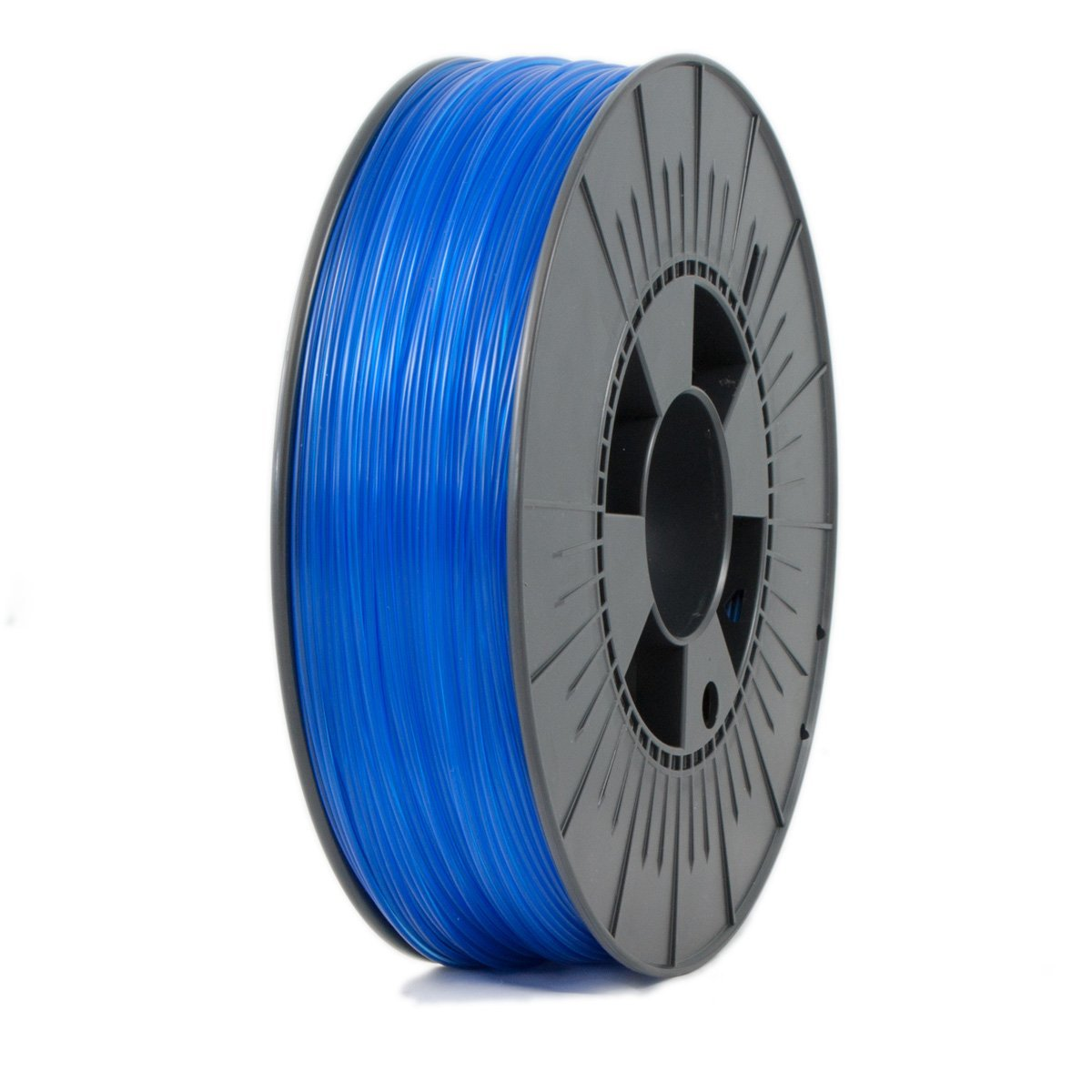Ice Filaments  Transparent Bold Blue PET 1.75 mm