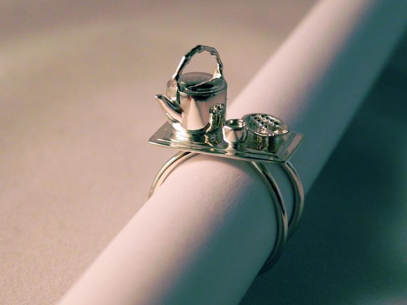 Silver High Gloss