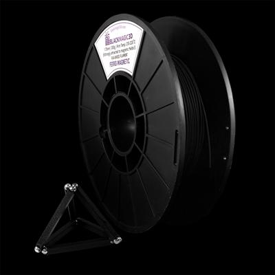 Black Magic 3D  Ferro-Magnetic PLA PLA 1.75 mm