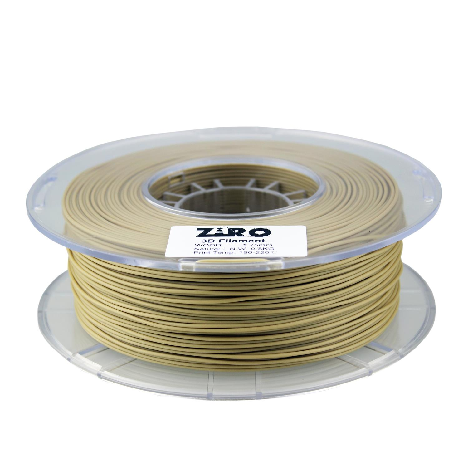 Ziro Wood PLA Natural 1.75mm