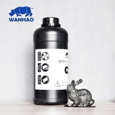 Wanhao Black Resin 1Ltr UV Resin