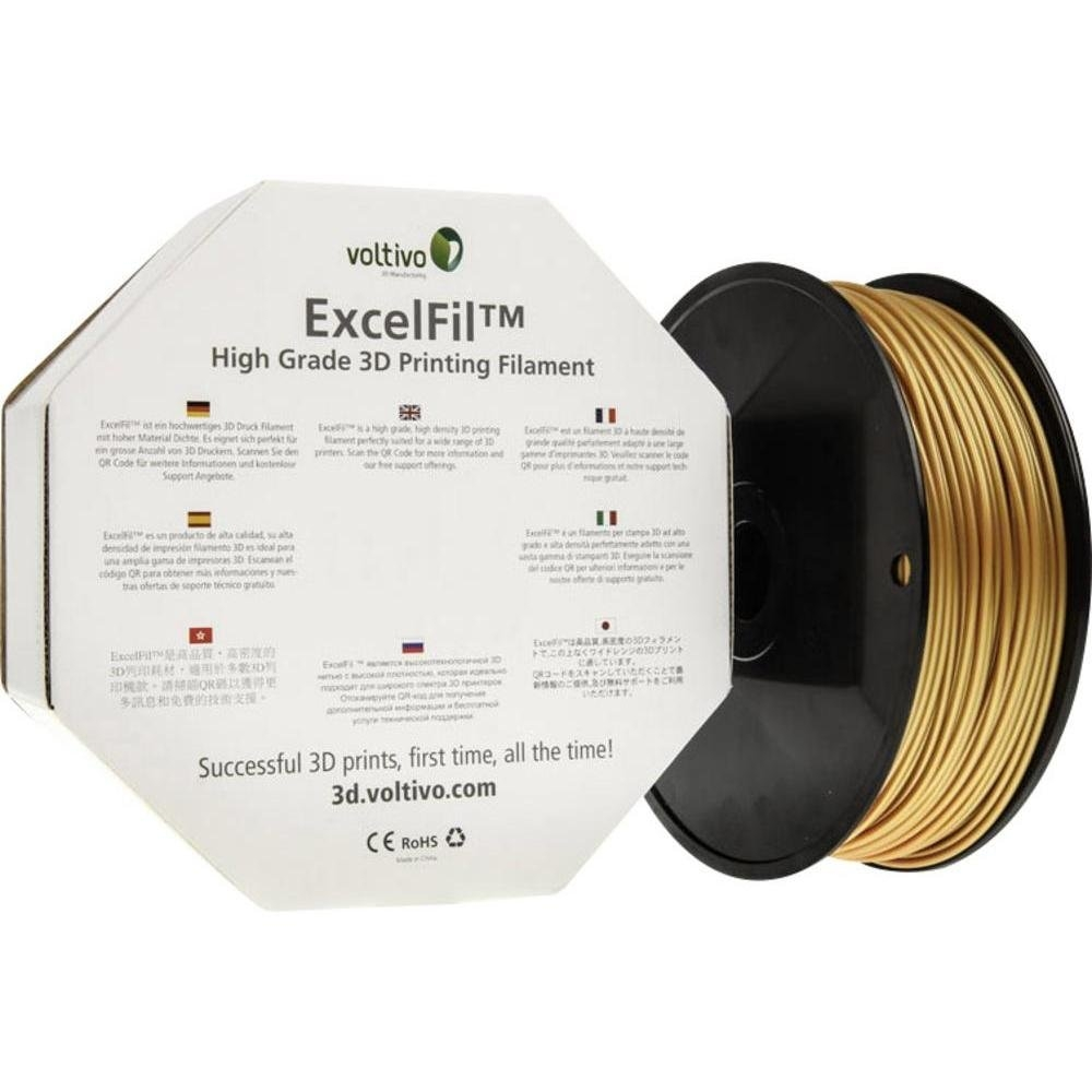 Voltivo ExcelFil  Bling Gold PLA 2.85 mm