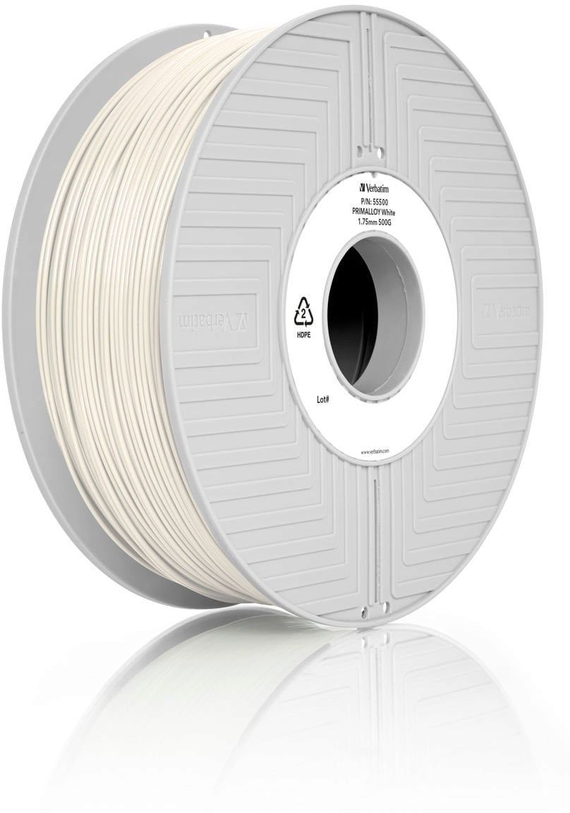 Verbatim BVOH White Filament 1.75 mm