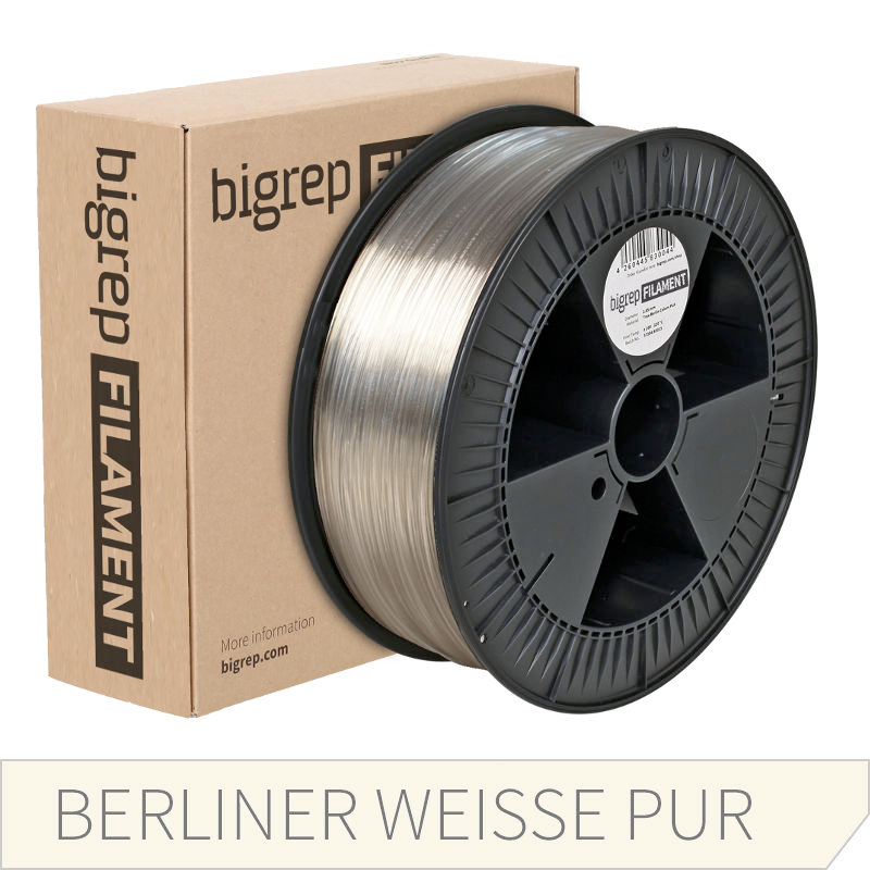 Bigrep Transparent PETG Filament 2.85 mm
