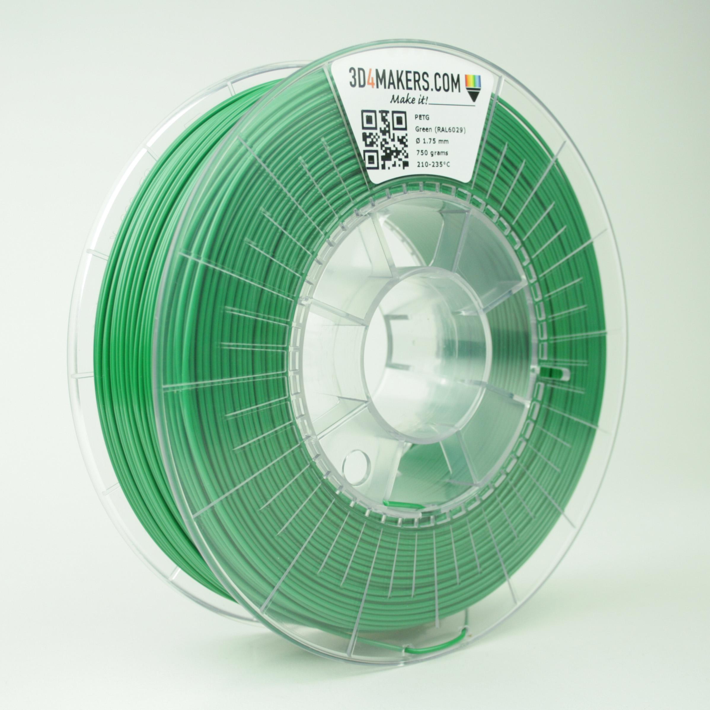 3D4Makers Green PETG Filament 1.75 mm