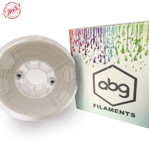 ABG Filament  White  ABS 1.75 mm