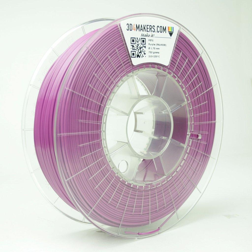 3D4Makers Purple PETG Filament 2.85 mm