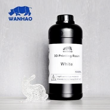 Wanhao White Resin 1Ltr UV Resin