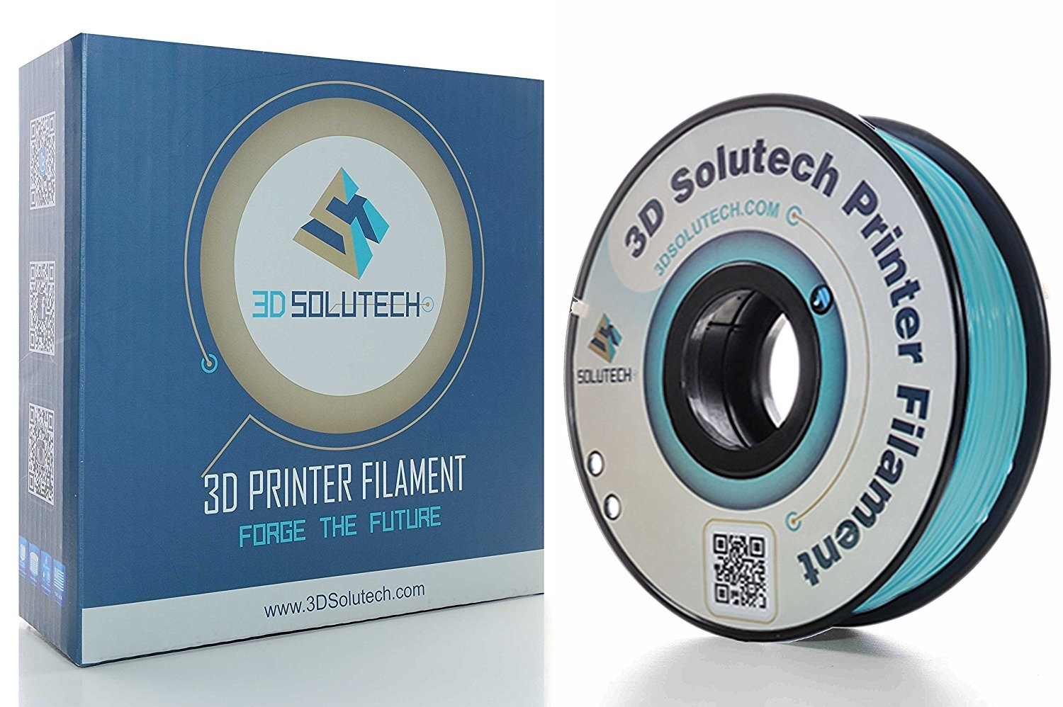 3D Solutech Teal Blue  PLA 1.75 mm