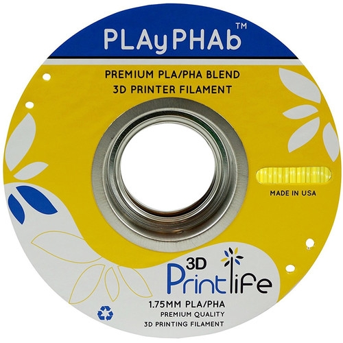 3D Printlife Yellow PLA+PHA 1.75 mm