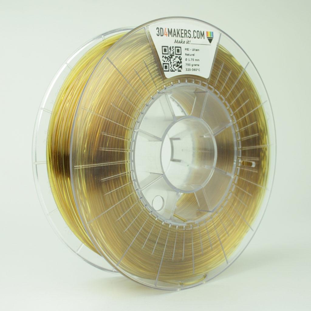 3D4Makers Natural PEI Filament 1.75 mm