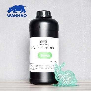 Wanhao Green Resin 1Ltr UV Resin