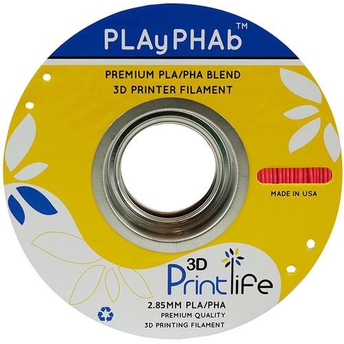 3D Printlife Red PLA+PHA 2.85 mm