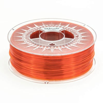 Extrudr MF Orange Transparent PETG 2.85 mm