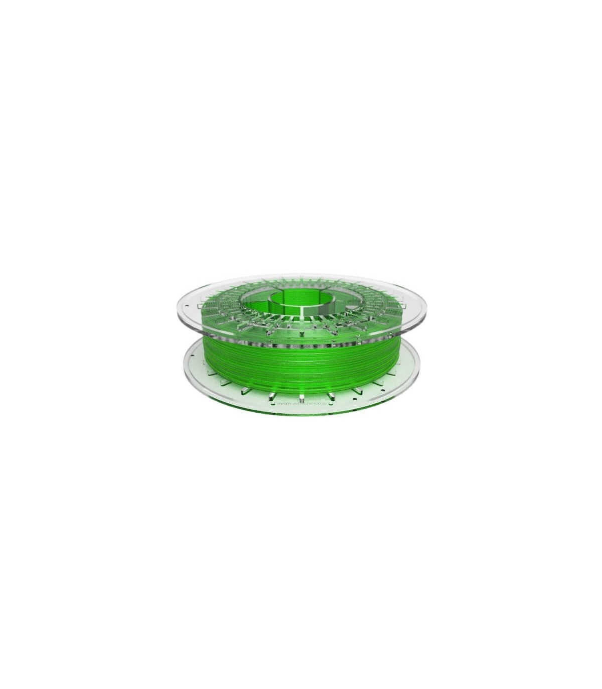FilaFlex Clear Green 82A TPE Filament 1.75 mm 500g