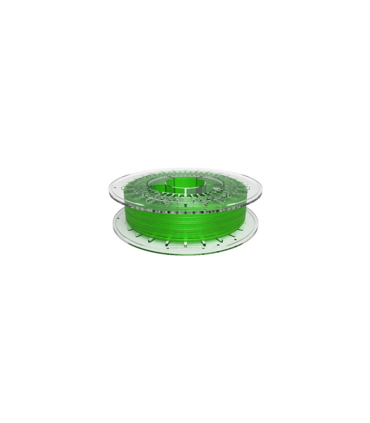 FilaFlex Clear Green 82A TPE Filament 2.85 mm 500g