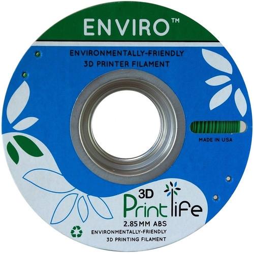 3D Printlife Enviro Green ABS 2.85 mm