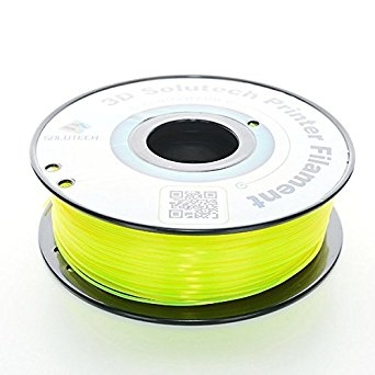 3D Solutech See Through Yellow  PLA 1.75 mm