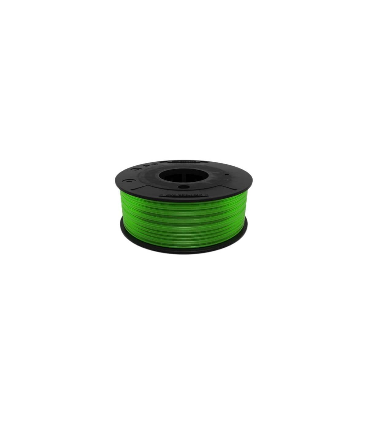 FilaFlex Clear Green 82A TPE Filament 1.75 mm 250g