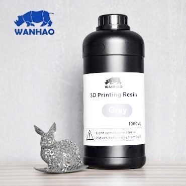 Wanhao Grey Resin 1Ltr UV Resin