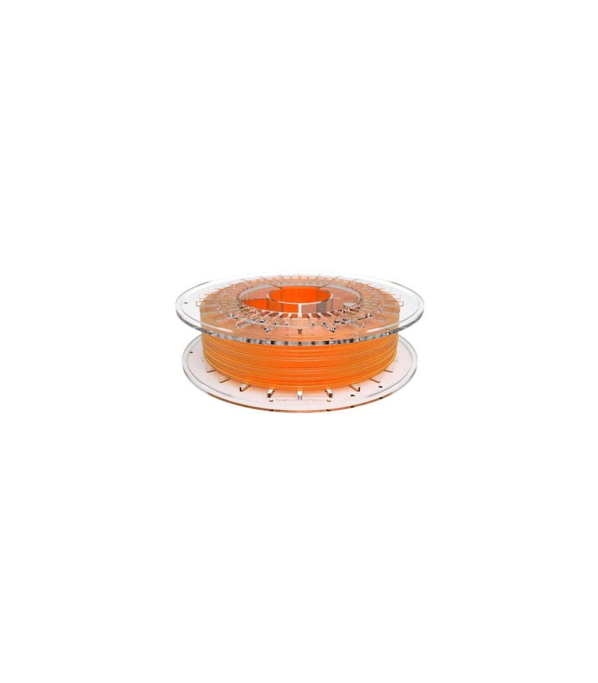 FilaFlex Clear orange 82A TPE Filament 2.85 mm 500g