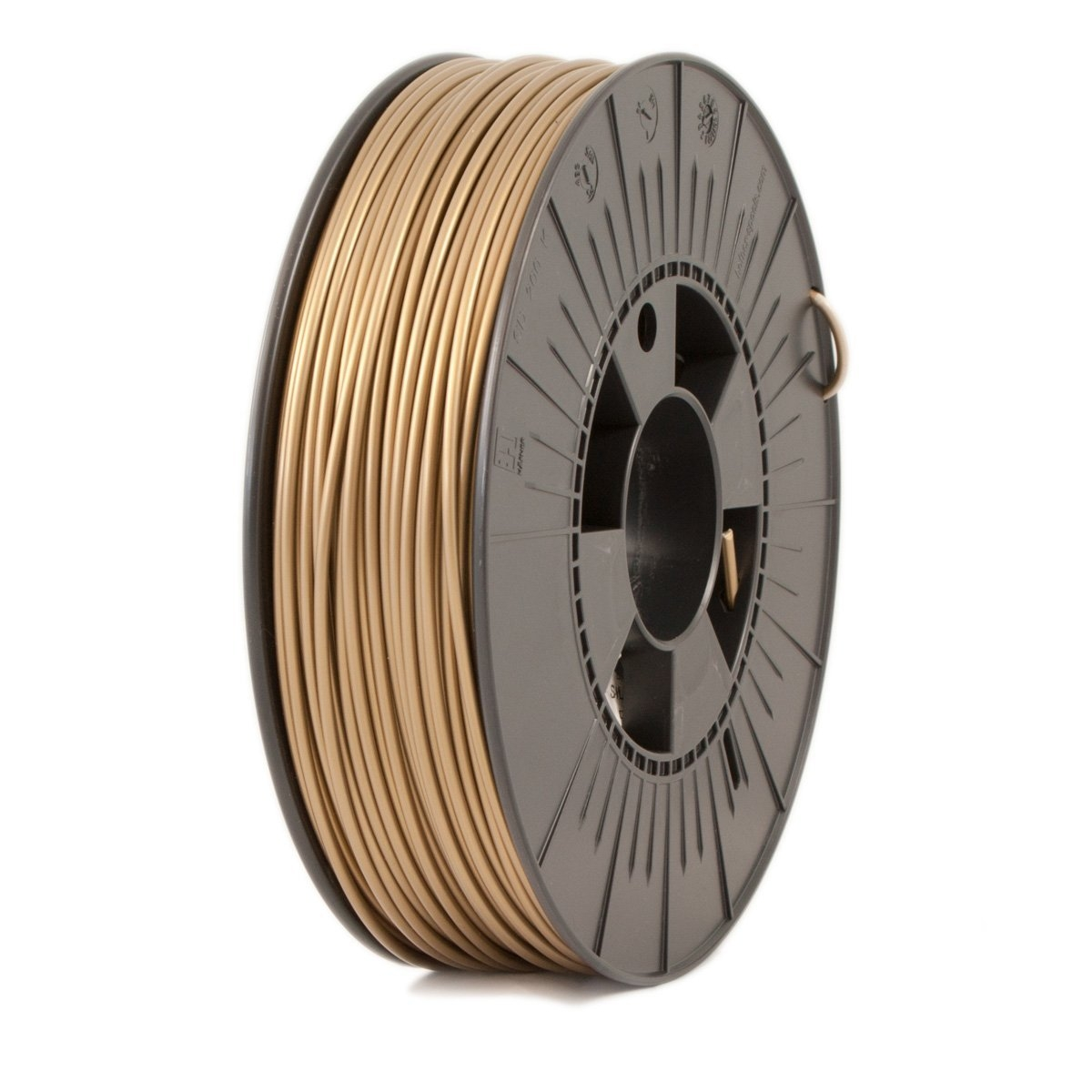 Ice Filaments  Groovy Gold ABS 2.85 mm