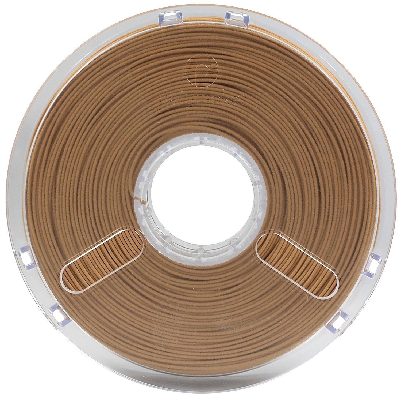 Polymaker PolyWood Wood-like  Brown PLA 1.75 mm 600g