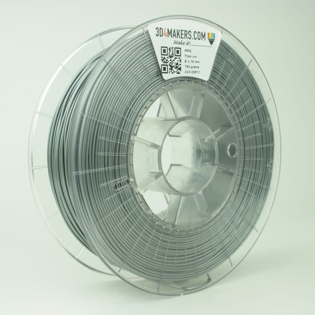 3D4Makers Titanium PETG Filament 2.85 mm