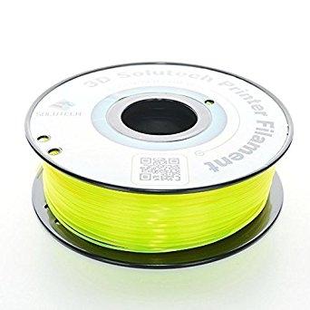 3D Solutech See Through Yellow  PETG 1.75 mm