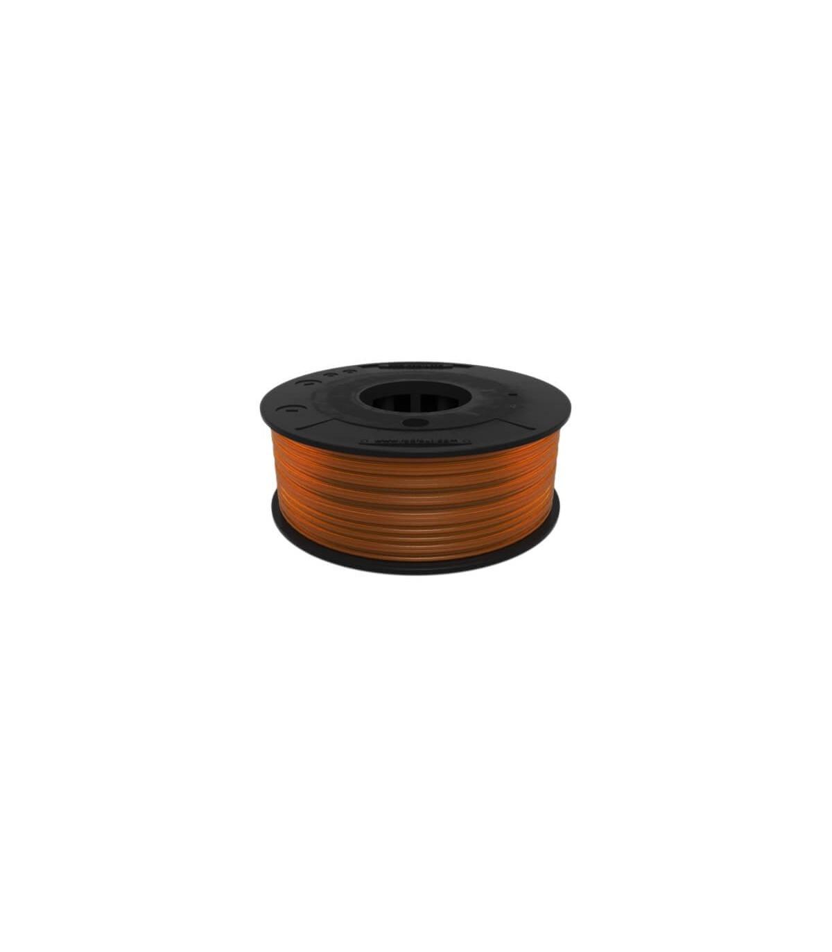 FilaFlex Clear Orange 82A  TPE Filament 1.75 mm 250g