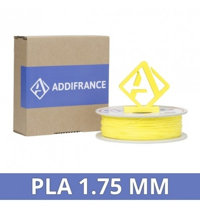 AddiFrance PLA Filament Yellow 1.75mm 750g