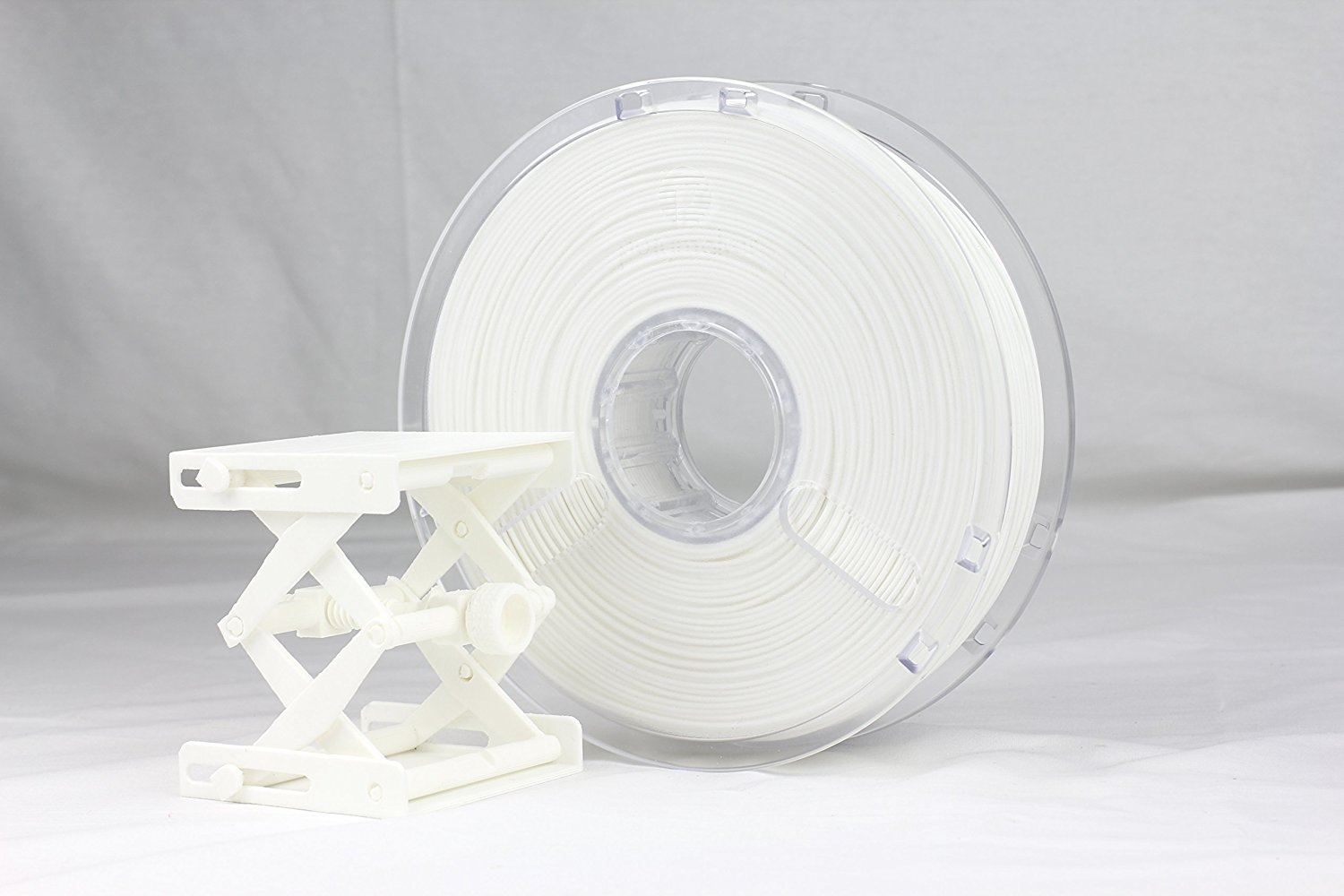 Polymaker PC-Plus True  White with Buildtak PC 1.75 mm 750g