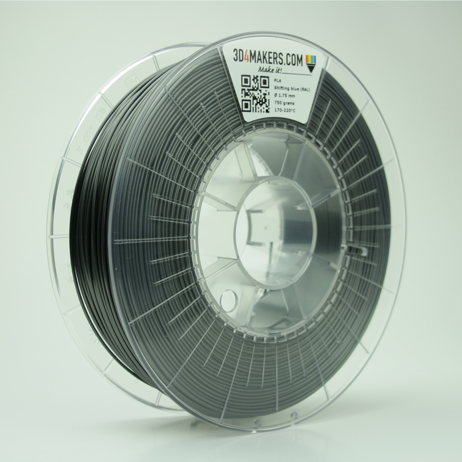 3D4Makers Shifting Blue PLA Filament 2.85 mm