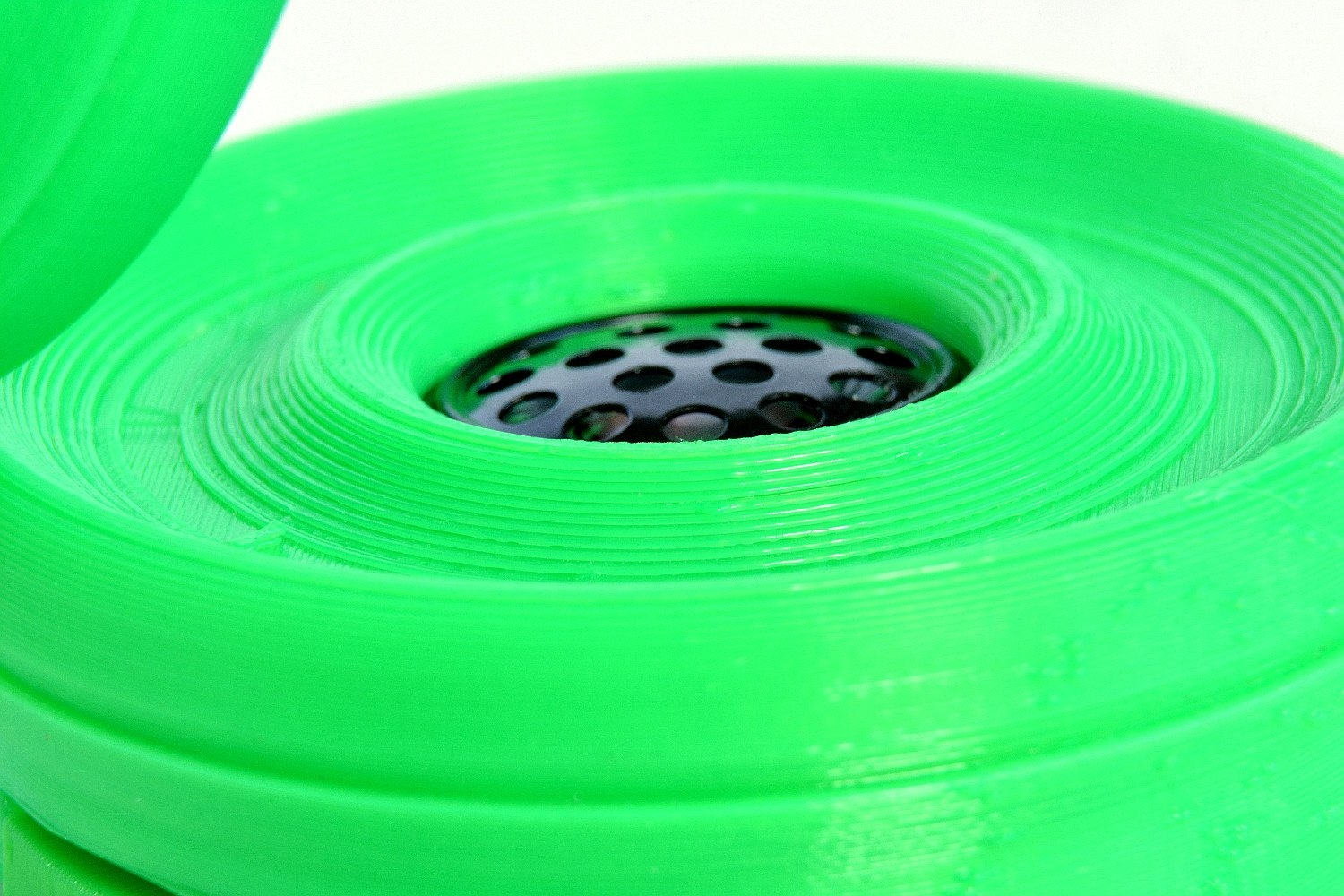 Fillamentum Flexfill 98A  Luminous green TPU 2.85 mm