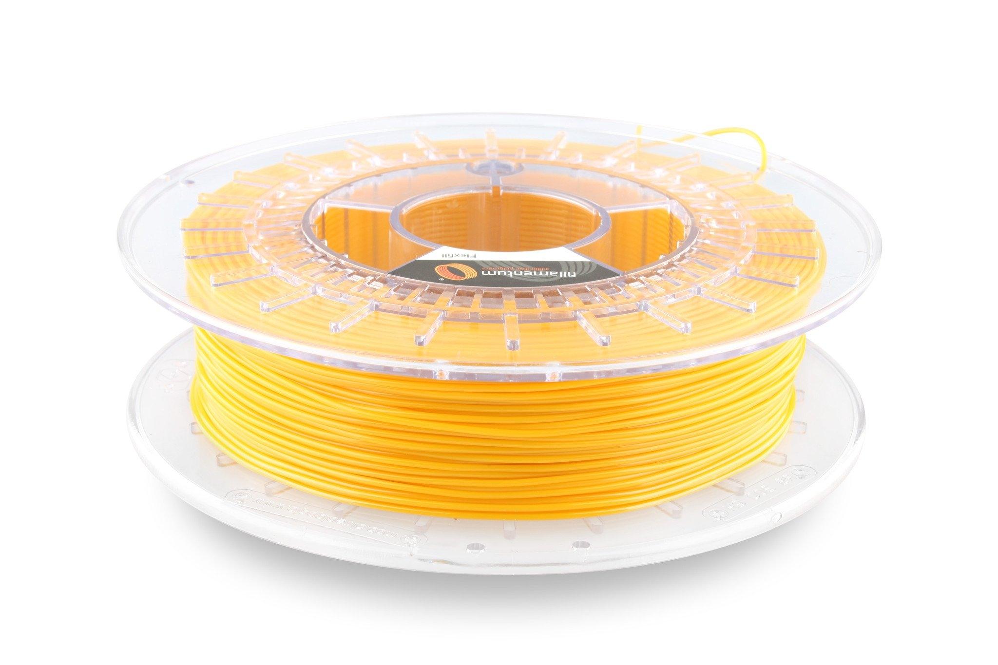 Fillamentum Flexfill 98A  Signal yellow TPU 2.85 mm