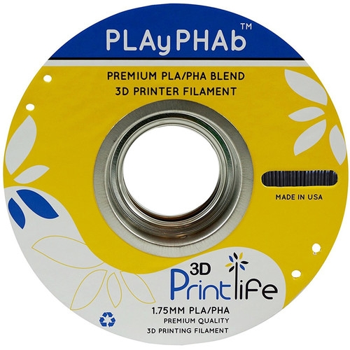 3D Printlife Black PLA+PHA 1.75 mm